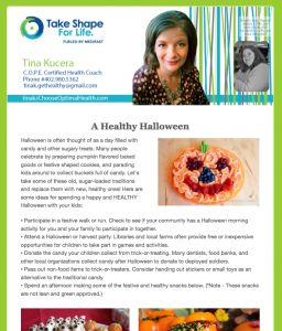 Weekly Newsletter 10-25-2015
