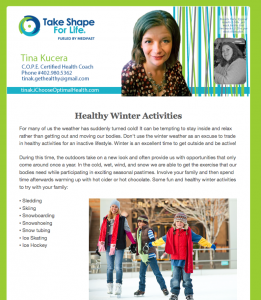 Weekly Newsletter 12-16-2015